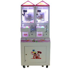 Chiny 2 graczy Coin Operated Crane Machines / 100W Crazy Claw Machine fabryka