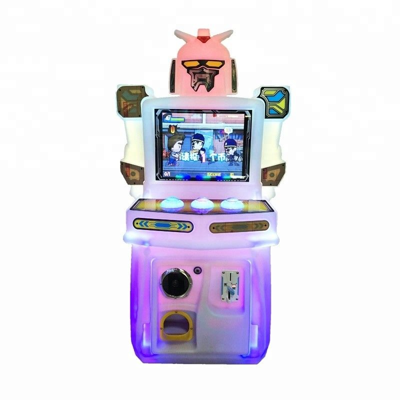 Rock Paper Cissors Kids Arcade Machine Coin Operated For Amusement Park