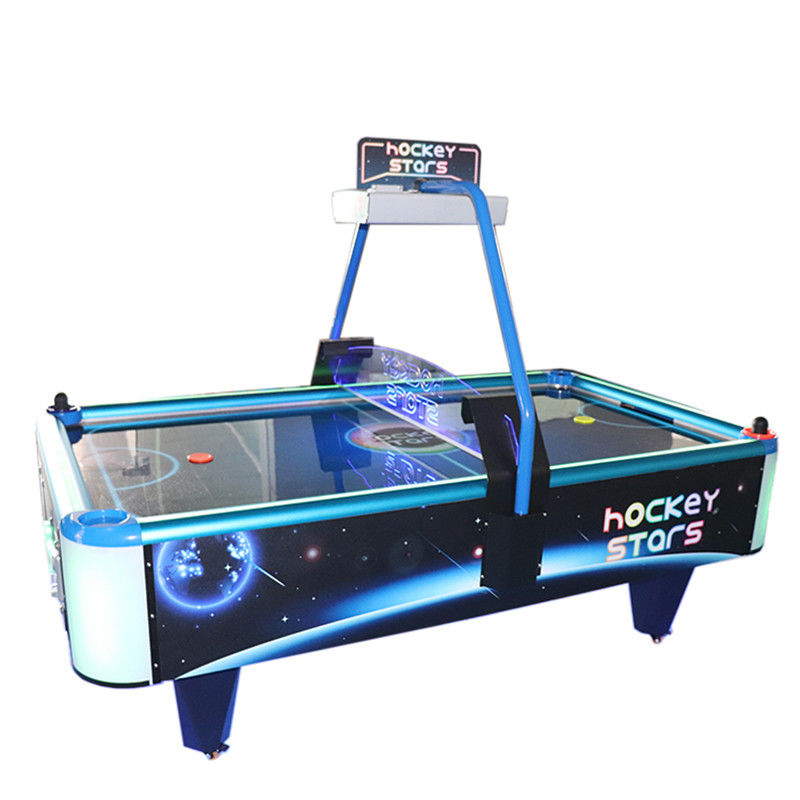 Metal + Acrylic Arcade Games Machines / Classic Children 's Air Hockey Table