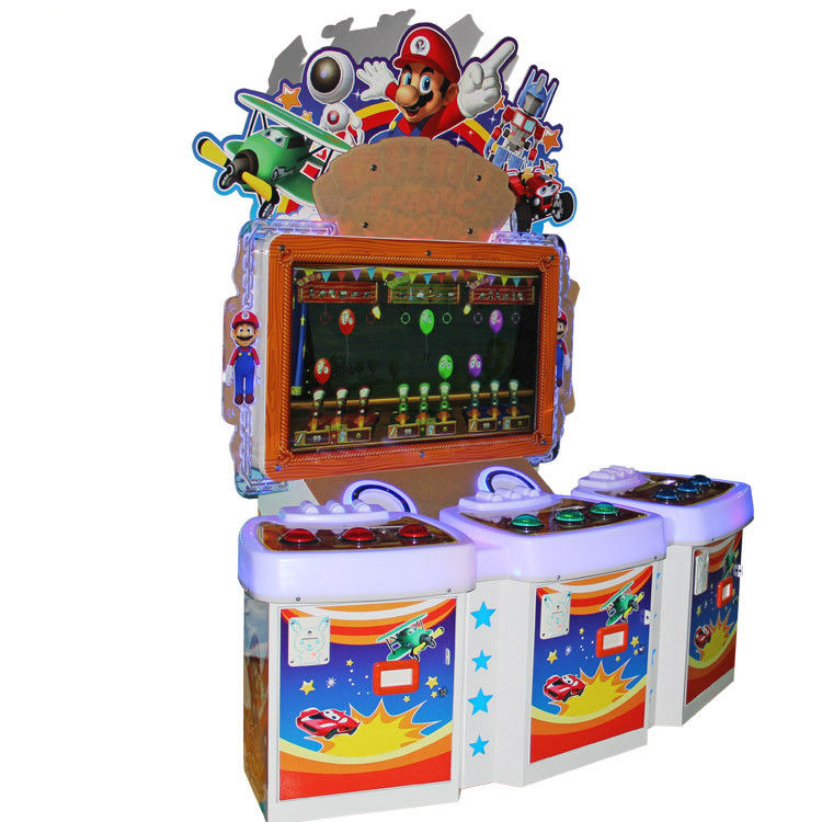 Crazy Shooter Redemption Game Machine , Prize Redemption Machine