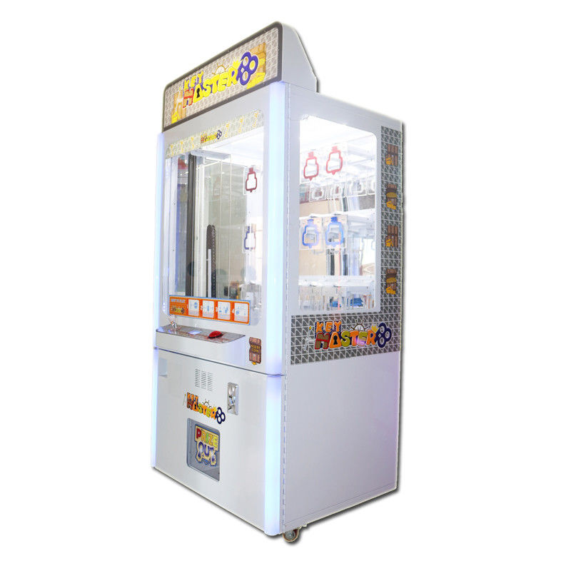 Nagroda Coin Pusher Claw Crane Machine / Key Master Game Game 100W dostawca