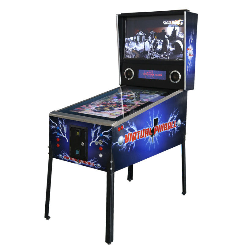 Professional  Kids Electronic Pinball Machine Coin Operated  For Game Center