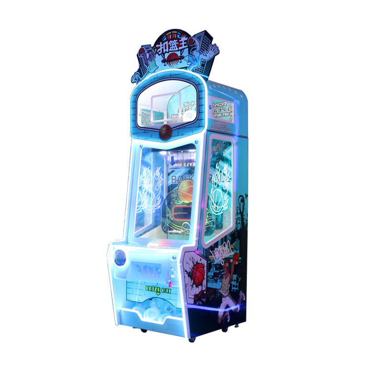 Commercial Kids Coin Operated Game Machine Slan Dunk Basketball Game 1 Player